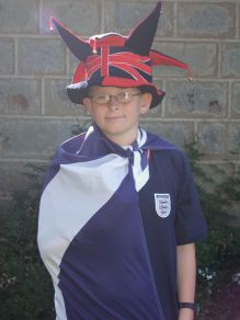 Dressed up for Multicultural Day at school